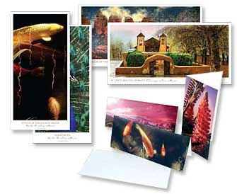Prints, borderless prints and notecards